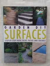 Garden DIY Surfaces - Step by Step by Richard Key - As New - Large Paperback