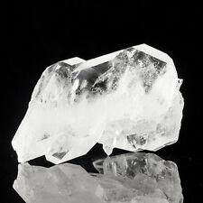 "4.7"" SeeThru FADEN QUARTZ DblTerminated Crystals w/White Lines Pakistan for sale"