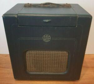 "Vintage 1940's PYE ""Baby Q"" Valve Radio (HMV Philco Ferguson Ecko Ultra Murphy)"