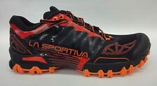 La Sportiva Mens Bushido Mountain Running Shoes 26K Flame Size 46
