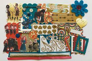 Disney Brave Merida Custom Mini Book Chipboard Album Kit Scrapbook