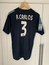 Real Madrid Away Shirt 03/04 - Roberto Carlos 3 Printed - Excellent S