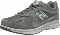 New Balance Men's Shoes MW877GT Low Top Lace Up Walking Shoes, Grey, Size 9.0 zv