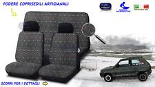 Coprisedili in cotone Jacquard Fiat Panda 4x4 vecchia panda 750 young per sedile
