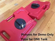 2.5 Gallon 10L Gas Container Oil Pack Fuel Can w/ Lock Mounting Kit Jeep ATV UTV