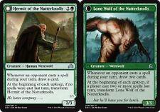 4x 4 x Hermit of the Natterknolls // Lone Wolf of the Natterknolls x4  UNCOMMON