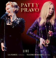PATTY PRAVO - Live La Fenice Venezia - Teatro- Doppio LP SIGILLATO