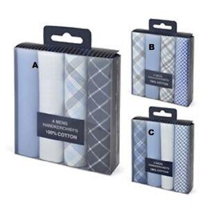 **SALE SALE** Men's Handkerchiefs In Gift Box 100% Cotton 40x40cm HK028