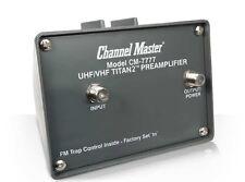Channel Master CM7777 Titan2 High Gain VHF/UHF/FM Preamplifier - Brand New