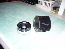 KAMERO Auto 2X Converter lens  with Leather Case Unused