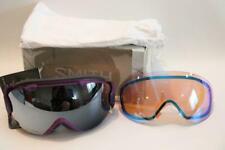 New Smith I/OS Goggles Ski Snow Monarch ChromaPop Sun Platinum Mirror Bonus Lens