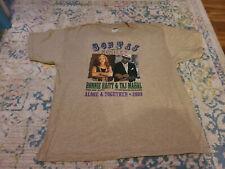 Bonnie Raitt 2009 tour shirt sz XL