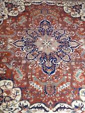 echter handgeknüpfter Orientteppich tappeto tapis Heriz alfombra 2,82 x 2,20 m