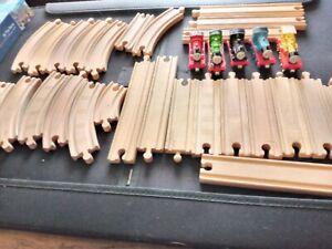 brio wooden train set bundle
