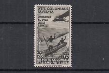 COLONIE EMISSIONI GENERALI 1934 POSTA AEREA ONORANZE DUCA MNH** SS. A30 LUSSO