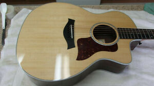 New 2021 Taylor 214 CE Deluxe Grand Auditorium Acoustic Electric w/ OHSC!