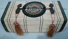 Rectangular Reed Tissue Box Cover
