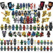 Ninjago Mini Figures Kai Jay Lloyd Sensei Wu Master Building Blocks Toy Gift Set
