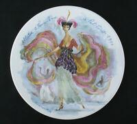 Limoges Porzellan Premiere Edition Sammelteller les femmes du siecle - 1910