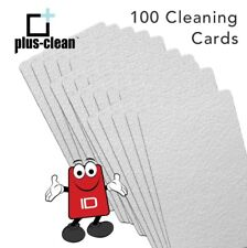 Thermal Printer Cleaning Cards CR80 sized, Isopropyl Alcohol pack of 100