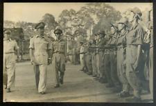 Guerre d'INDOCHINE 1953, Général Nguyen Va Hinh ?, argentique d'époque 12x18