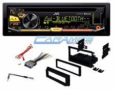 JVC BLUETOOTH CAR STEREO RADIO USB/AUX CD PLAYER RECEIVER W/ INSTALLATION KIT
