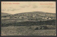 RFA Military Camp Okehampton Devon Vintage Postcard 1908