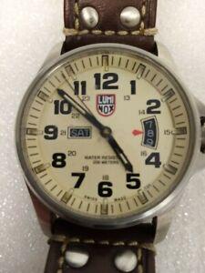 Luminox Swiss Mate Series 1820 Wristwatch Day Date Complications Rare #576