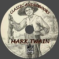 MARK TWAIN 30+ CLASSIC NOVELS MP3 AUDIO BOOKS NEW PCDVD LIFE ON THE MISSISSIPPI+