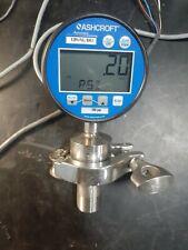Ashcroft Model 2232 Digital Pressure Gaugetransmitter 34 Mnpt Adapter