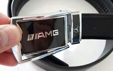 MercedesBenz AMG Leder Gürtel mit Automatik Schnalle 120cm