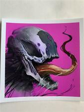 VENOM Symbiote SIGNED Print  by Dave Correia  5 X 5