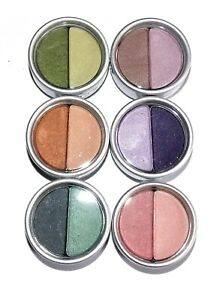 Stila Eyeshadow Duo ~ Pick A Shade ~ Purple Pink Green Brown New & Boxed
