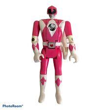 Vintage 1995 Bandai Power Rangers Auto Flip Head Pink Ranger