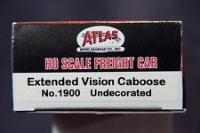 ATLAS EXTENDED VISION CABOOSE  UNDECORATED