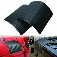 Black Cowl Body Armor Cowling for Jeep Wrangler JK & Unlimited Rubicon 07-17