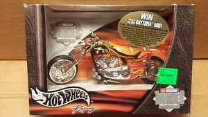 Hot Wheels NASCAR Thunder Rides Die-Cast 1/18 Scale Team Rensi #25 Motorcycle