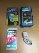 Apple iPhone 6 Silver 16GB (Unlocked) A1549 (CDMA   GSM) + Accessories, Nice!