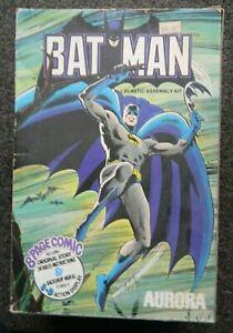 BATMAN : AURORA : COMIC SCENES : PLASTIC KIT : 1974 : SEE PHOTO'S