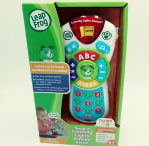 Leap Frog Scout's Learning Lights Remote Deluxe Green English & Spanish New