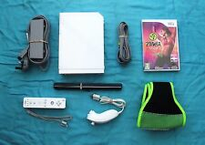 NINTENDO WII CONSOLE AND ZUMBA FITNESS WII
