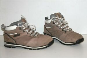 TIMBERLAND Men's Boots à Lacets Cuir Marron Clair  T 7.5 US / 7 UK / 41 TBE