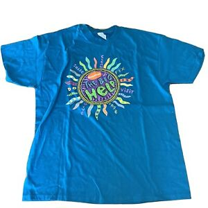 nickelodeon The Big Help Hanes Beefy-T90's 1994 Promotional T Shirt Rare VGC