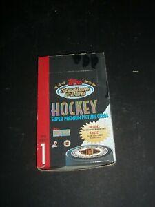 1993 Topps Stadium Club Series 1 National Hockey League Box