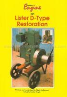 Stationary Engine Magazine on Lister D-Type Restoration Book By Nigel McBurney