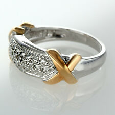 Cross Border Accented Ring ~ Size 7