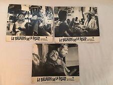 LE SALAIRE DE LA PEUR - CLOUZOT - MONTAND - VANEL - LOT 3 PHOTOS EXPLOITATION