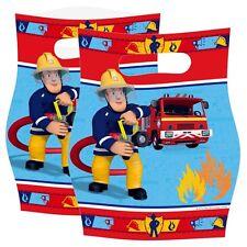 Sacchetti Regalo | 8 Pezzi | Sam il Pompiere | Bambini Compleanno | Festa