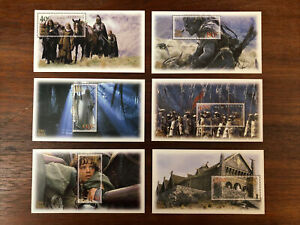 NEW ZEALAND 2002 LOTR 'TWO TOWERS' Stamps With Larger Blocks SET 6 (MNH)