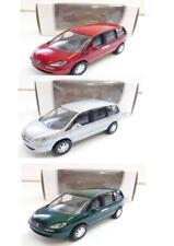 """Lot de 3 Peugeot 807 (Gris, Rouge, Vert) 1/64 """"3 Inches"""" NOREV Produit NEUF"""